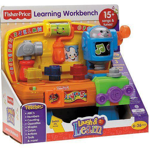 Fisher-Price(フィッシャープライス) 笑顔と学習 学習 Workbench (対象年齢: 6 ヵ月 - 3 歳)