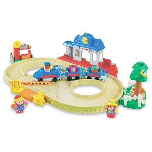 Fisher-Price(フィッシャープライス) Little People Lil' Movers モーターized トレイン