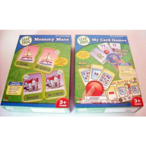 LeapFrog(リープフロッグ) Memory Mate and My カード ゲーム Assortment ケース パック 12