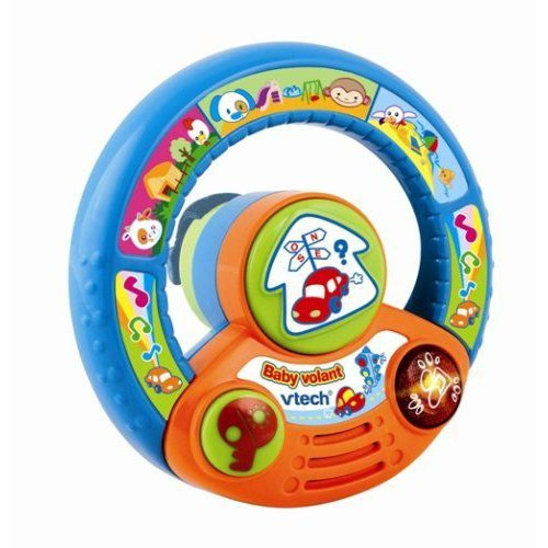 Vtech-Spin And Explore Steering Wheel - Baby Steering Wheel