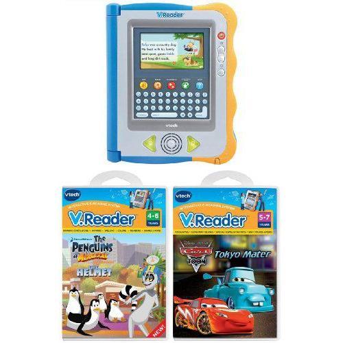 Vtech V.Reader Interactive E-Reading システム & 2 V Reader ゲーム バンドル