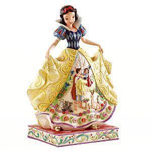 Snow ホワイト フェアリー Tale フィギュリン (Jim Shore Disney(ディズニー) Traditions)