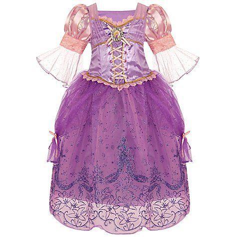 Disney(ディズニー) ストア Rapunzel コスチューム ドレス for Girls: サイズ XS 4
