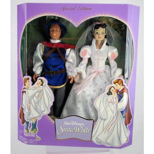 Disney(ディズニー) プリンセス Snow ホワイト & プリンス Charming 特別版 ウェディング 人形 セット Di