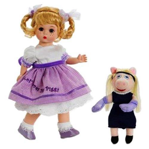 "Madame Alexander 人形 Wendy Loves Miss Piggy, 8"", Disney(ディズニー) Favorites 人形"