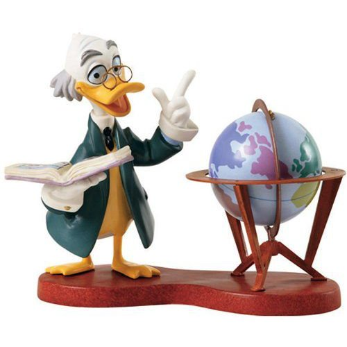 Walt Disney(ディズニー) クラシックs Collectibles Ludwig Von Drake Statue
