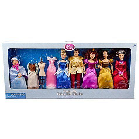 Disney(ディズニー) プリンセス 限定 デラックス シンデレラ 人形 ギフトセット