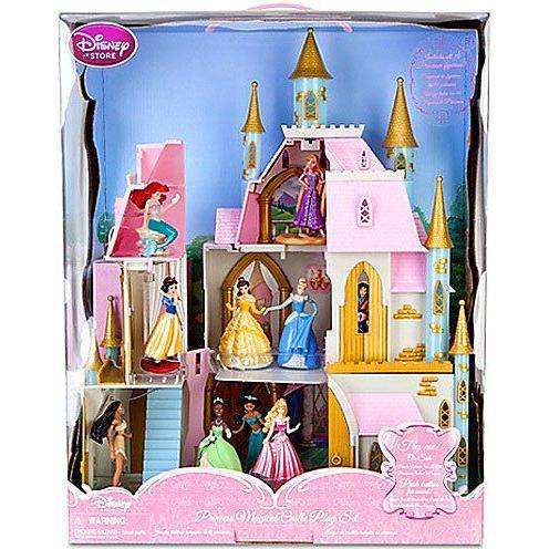 Disney(ディズニー) プリンセス 限定 プリンセス マジカル 城 プレイセット
