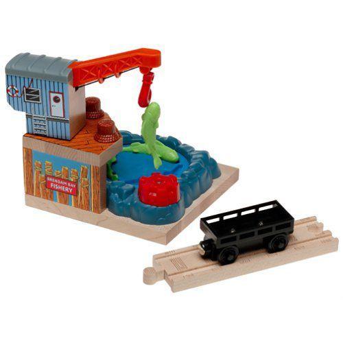 Thomas(機関車トーマス) Wooden Railway Fishing Dock Destination