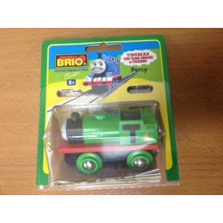 Brio Wooden Railway System Thomas(機関車トーマス) the Train Percy Very レア New in Original パック