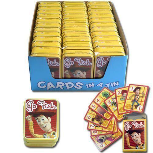 Toy Story(トイストーリー) Go Fish ミニ カード ゲーム In Tin - ケース パック 36 SKU-PAS914020