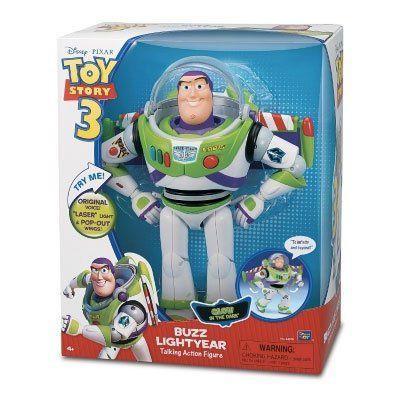"Disney(ディズニー) Toy Story(トイストーリー) 3 Glow In The Dark 12"" トーキング バズライトイヤー"