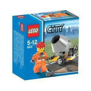 【LEGO(レゴ) シティ】 シティ 建設作業員 5610