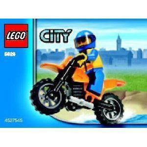 【LEGO(レゴ) シティ】 シティ 5626 Coast Guard Bike
