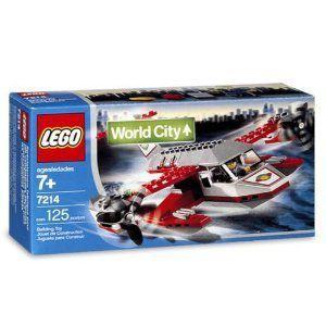 【LEGO(レゴ) シティ】 ワールドシティ 水上機 7214 Sea Plane