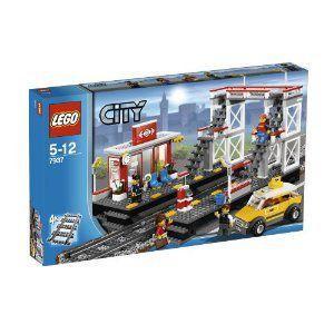 【LEGO(レゴ) シティ】 シティ トレイン シティの駅 7937