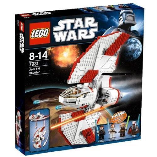 【LEGO(レゴ) スターウォーズ】 スター・ウォーズ T-6ジェダイシャトル 7931