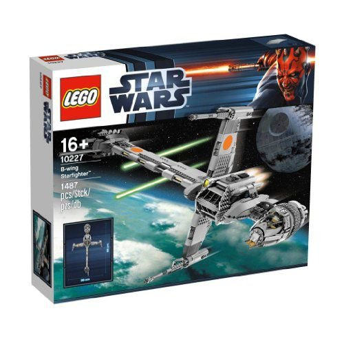 【LEGO(レゴ) スターウォーズ】 スター・ウォーズ B-ウイング・スターファイター 10227