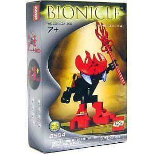 【LEGO(レゴ) バイオニクル】 バイオニクル Mini Figure Set #8554 Tahnok Va 赤