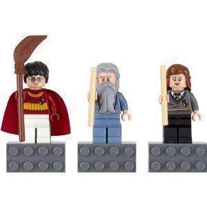 【LEGO(レゴ) ハリーポッター】 ハリー・ポッター マグネットセット 【グディッチ,ダンブルドア校長,ハーマイオニー】 852982