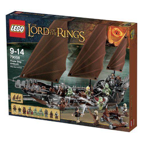 【LEGO(レゴ) ロードオブザリング】 ロード・オブ・ザ・リング 海賊船アンブッシュ 79008