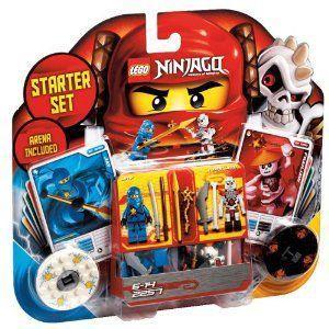 【LEGO(レゴ) ニンジャゴー】 ニンジャゴー スピン術バトル・スターターセット 2257