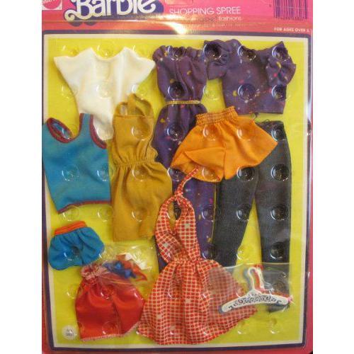 Barbie(バービー) SHOPPING SPREE ファッション Genuine CLOTHES / シューズ & Hangers (1975 Mattel Haw