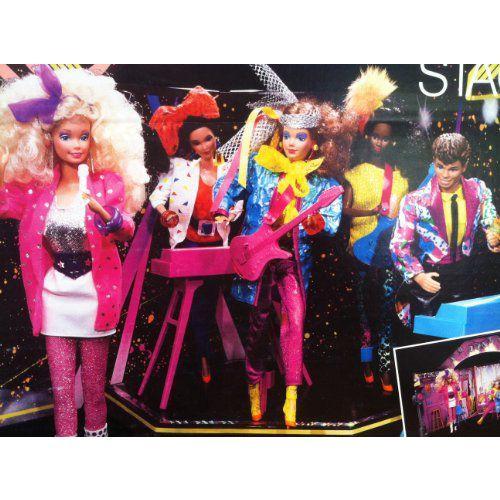 ビンテージ Barbie(バービー) & the Rockers Hot Rockin' Stage - 1985