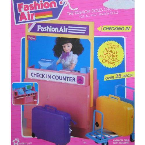 """ファッション Air: Check In Counter Playset / 25+ Pieces - For Barbie(バービー) & 11.5"""" ファッショ"""