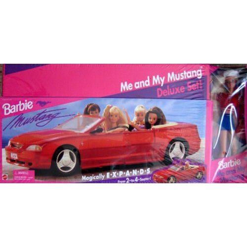 Barbie(バービー) ME & MY MUSTANG デラックス Set / EXP&ING MUSTANG Vehicle CAR & バービー人形 (19