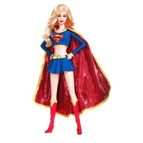 2008 Barbie(バービー) コレクター 人形 シルバーレーベル Supergirl 人形