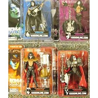 Mcfarlane KISS(キッス) Creatures 4 フィギュア Individually Carded Sealedセット of アクションフィ