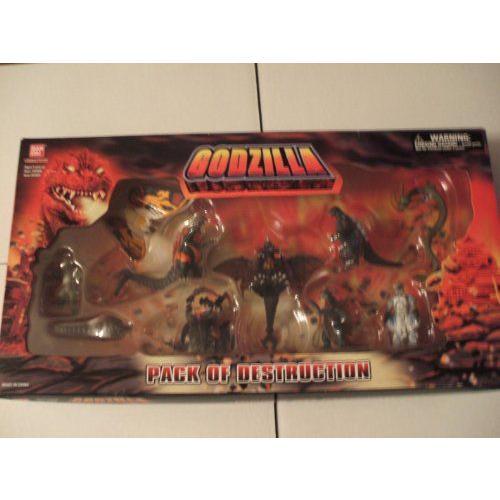 ゴジラ Pack of Destruction - 10体セットミニチュア フィギュア