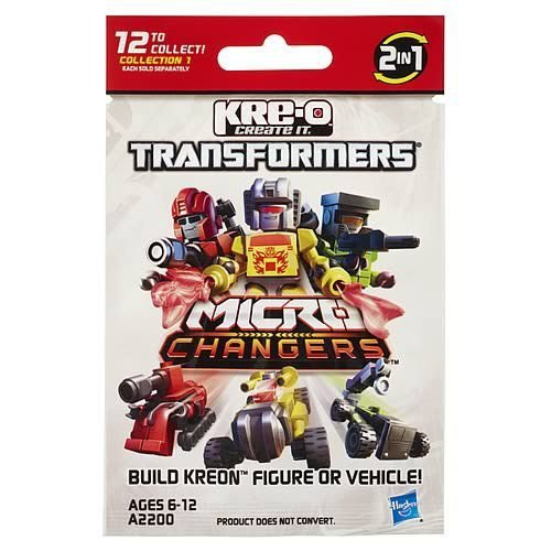 Kre-O トランスフォーマー 2013 ミニ-フィギュア シリーズ 1 Case