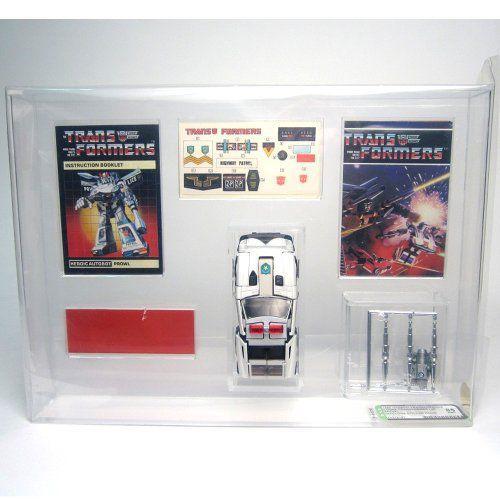 Prowl AFA 85 トランスフォーマー ジェネレーション 1 G1 Loose ビンテージ 1984