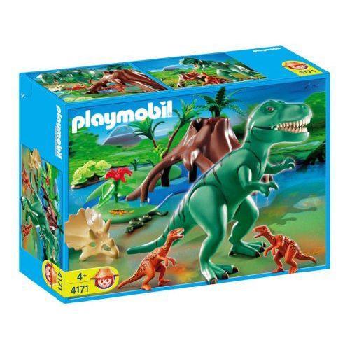 Playmobil(プレイモービル) T-rex With Velociraptors