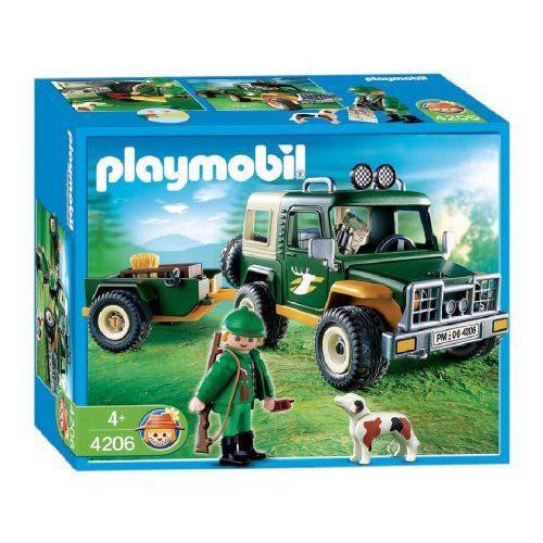 Playmobil(プレイモービル) のりもの 森のトラック 4206