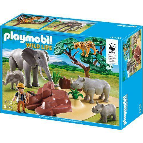 Playmobil(プレイモービル) wild life 5275 animaux de la savane avec photographe