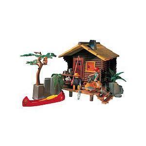 Playmobil(プレイモービル) Log Cabin Leisure Play Set