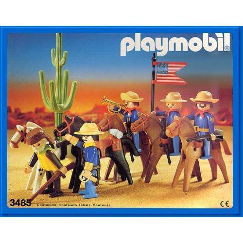 Playmobil(プレイモービル) ウエスタンシリーズ Set - U.s. Cavalary (3485)