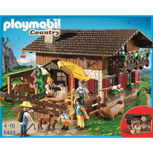 Playmobil(プレイモービル) 5422 Alpine Lodge with with Fireplace