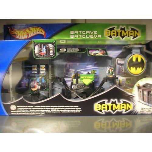 Hot Wheels バットマン Batcave / Bathole Playセット