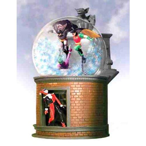 DC Direct Limited エディション バットマン & ロビン Snowglobe