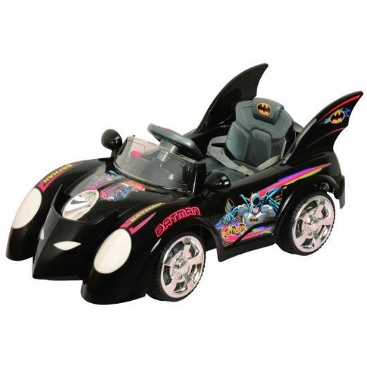 New Kids バットマン バットモービル Battery Powe赤 Children Ride On Outdoor Car Toy Uk