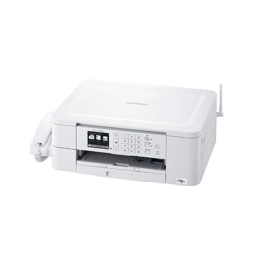 【訳アリ】外箱不良 子機なし brother プリンター A4 インクジェット複合機 MFC-J738DN FAX/無線LAN