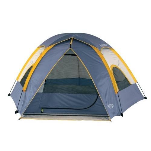 ヴェンツェル(Wenzel) アルペン 3ポール3人用 ペンタ ドームテント 8.5 X 8-Feet Dome Tent (Light グレー/B