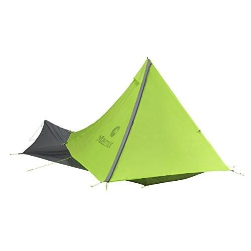 Marmot Nitro 1p Tent: 1-Person 3-Season Green Lime/Steel, One Size