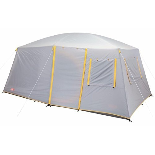 Coleman WeatherMaster II 10-Person 2-Room Family Cabin Camping Tent | 16' x 10'
