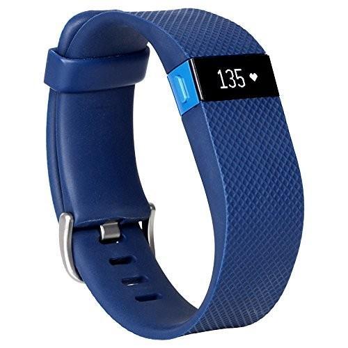 Fitbit Charge HR 心拍数+アクティビティリストバンド 青 Large