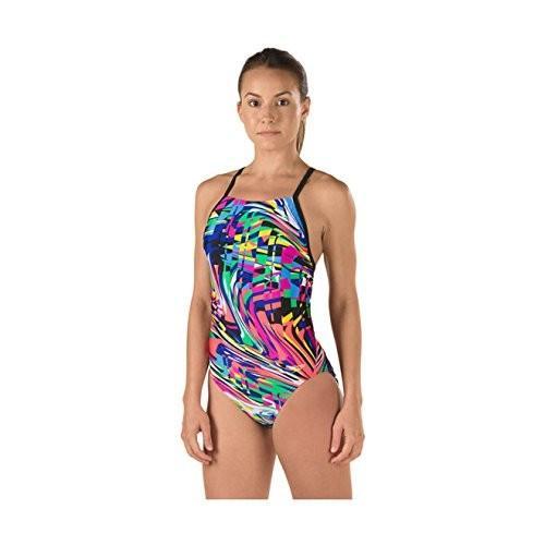 夏セール開催中 MAX80%OFF! Speedo Womens Rio Dreams Free Back Adult Onepiece Swimsuit, 湯川村 16a4f5c8